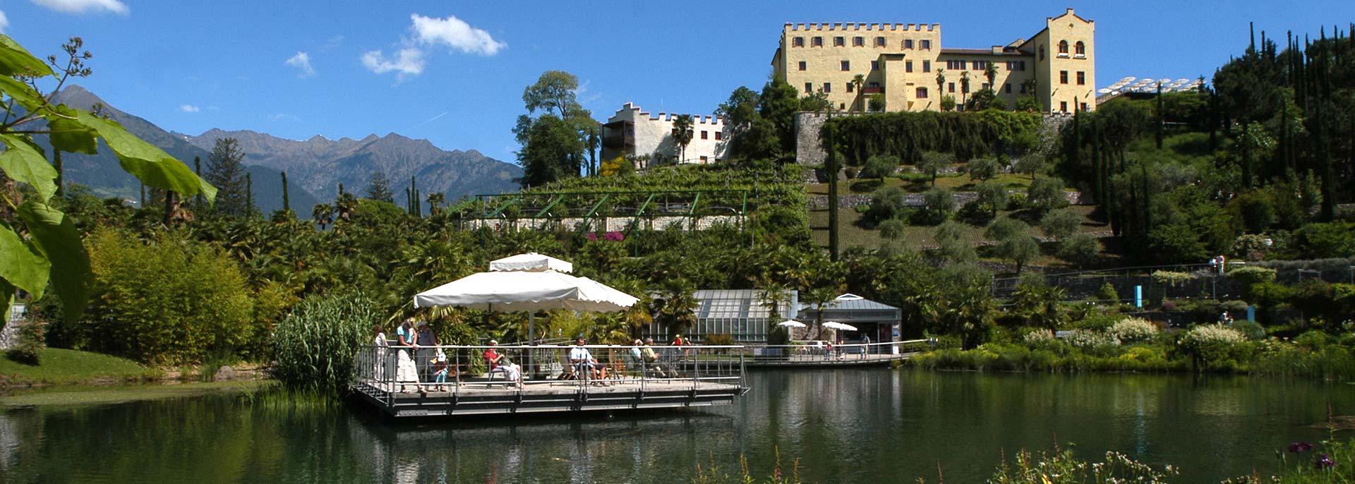 Die Gärten von Schloss Trauttmansdorff: ganz in der Nähe von Kaltern