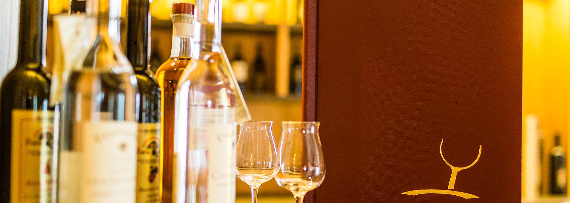 Weinhotel Südtirol - Details unserer Sommelier Weine im Hasslhof