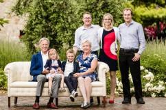 Familienfoto Anton Morandell