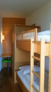 Kinderzimmer mit Stockbett in der Familiensuite