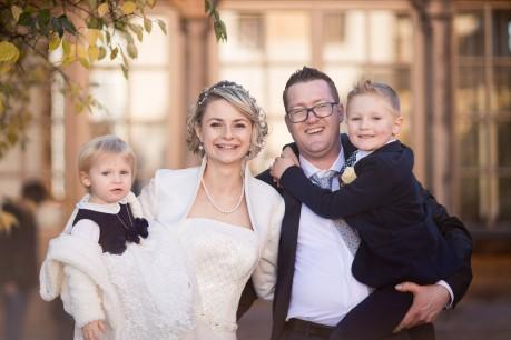 Familienfoto Anton Michaela Julian Marie
