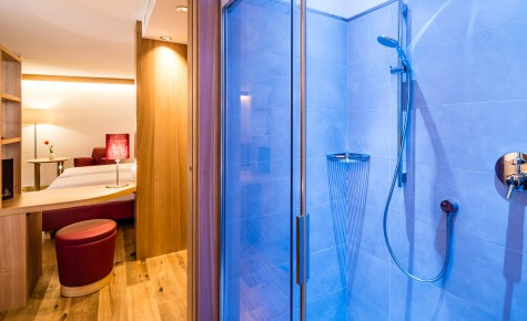 "Badezimmer im Doppelzimmer ""Vernatsch"""