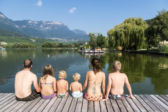 Familienurlaub am Kalterer See