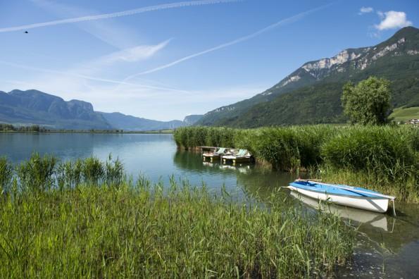 Kalterer See- Badeurlaub in Südtirol